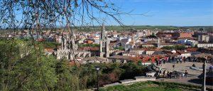Slide castillo en Burgos|calle san lorenzo burgos|Plaza de Santa María|