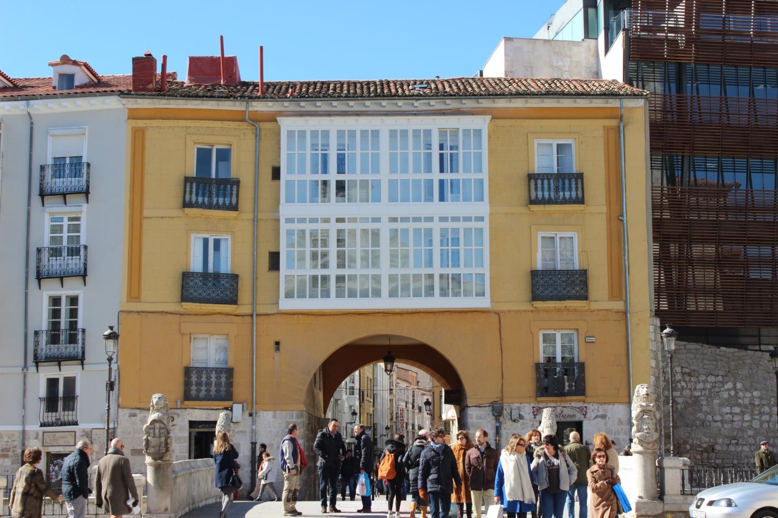 Arco de San Juan en Burgos