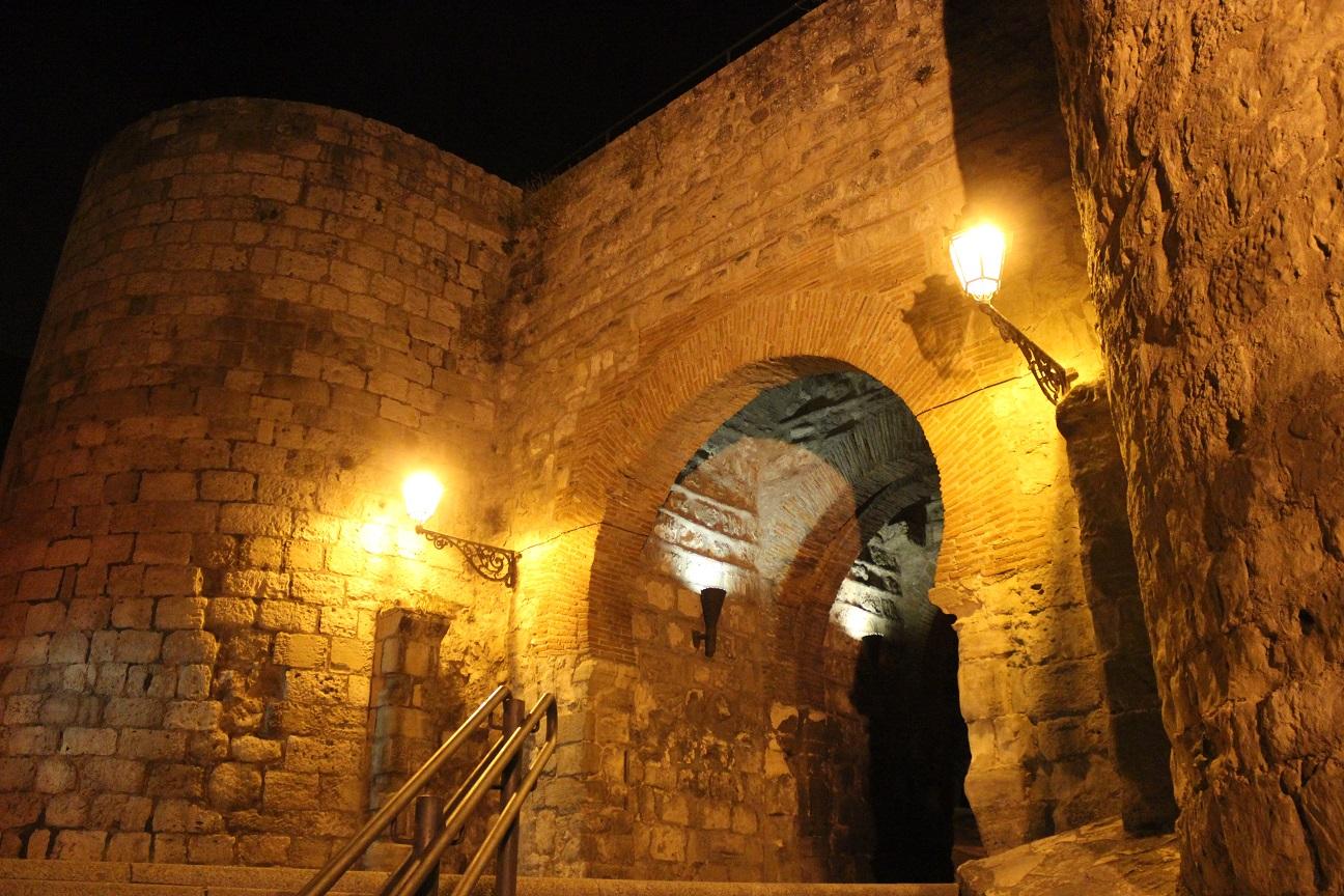 Arco de San Martín- Burgos de noche
