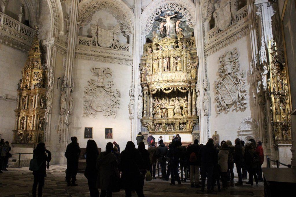 Capilla del Condestable Catedral de Burgos - Visitas Guiadas Mirador del Castillo en Burgos visitas familiares burgos
