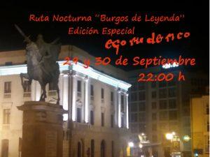 Ruta Nocturna del Cid Burgos de Leyenda - Visita guiada en Burgos