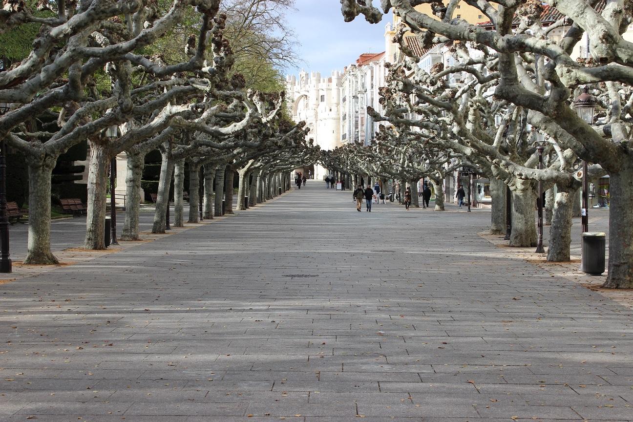 Paseo del Espolón Burgos