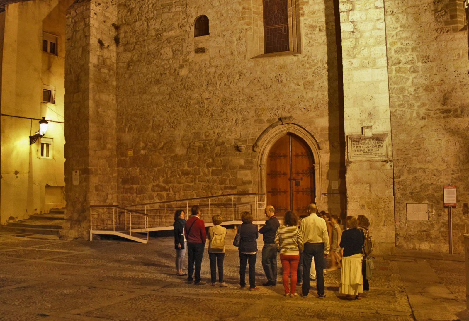 Ruta Nocturna Burgos de Leyenda Visitas Guiadas