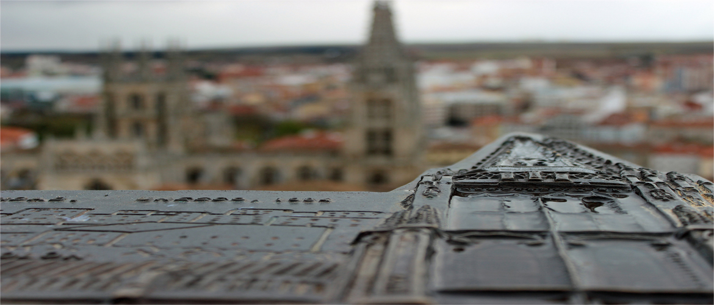 Mirador del Castillo en Burgos