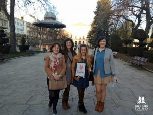 Burgos Turismo Equipo de Guías Oficiales - Sagrario - Ana - Rocío y Beatriz